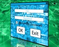 password Immagini Stock Libere da Diritti