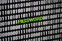 password fotografia stock
