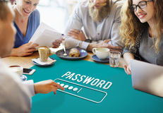 Password Access Firewall Internet Log-in Private Concept Royalty Free Stock Photos