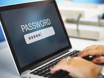 Password Access Firewall Internet Log-in Private Concept Royalty Free Stock Photography