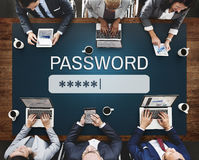 Password Access Firewall Internet Log-in Private Concept Stock Photography