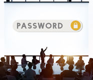 Password Accessible Permission Verification Security Concept Royalty Free Stock Image