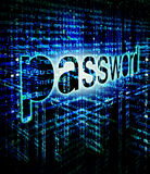 password background digital illustration Royalty Free Stock Photography