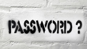 Password? Royalty Free Stock Image