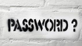 Password? Royalty Free Stock Image