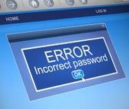 Password concept Stock Image