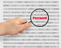Password cracking Royalty Free Stock Images