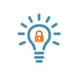 Password Hint Icon with Question Mark. Icon for those who have forgotten their passwords Royalty Free Stock Images