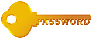 Password protected Royalty Free Stock Images