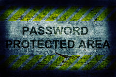 Password protection Royalty Free Stock Images