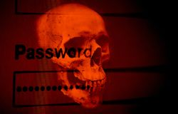 Password security cyber thief protection verification data system royalty free stock images
