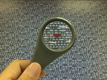 Password tecnology Stock Photography