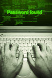 Password theft Stock Photography