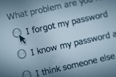 Password trouble Royalty Free Stock Photography