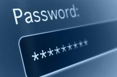 Passwort Lizenzfreie Stockbilder