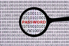 Passwortsicherheit lizenzfreies stockbild