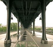 Passy Bridge, Paris, France Royalty Free Stock Photos