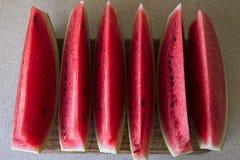 Pastèque coupée en tranches XIII Photographie stock libre de droits