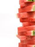 pastèque de pile de verticale Photos stock