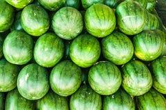 Pastèque verte Images libres de droits