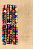 Pastéis coloridos Fotografia de Stock