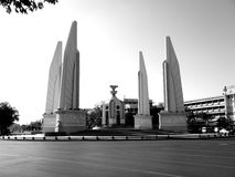 Past Democracy Monument Stock Photography