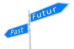 Past - futur Stock Images