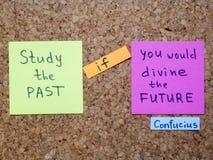 Past i przyszłościowy Zdjęcie Stock
