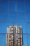 past reflexion Fotografering för Bildbyråer
