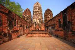 Past of Sukhothai Stock Photos