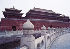 Past temple of china Royalty Free Stock Photos