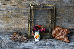 Past time - Dried old art Royalty Free Stock Photo