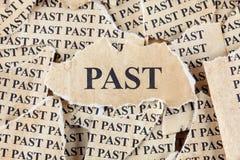 Past Stock Photo
