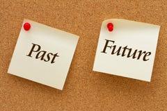 Past versus przyszłość Zdjęcia Royalty Free