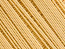Pasta. Closeup photo of the uncooked pasta rows Royalty Free Stock Photo
