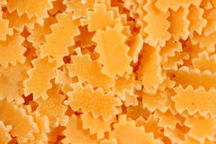 Pasta. (ravioli-like but without filling Stock Photography