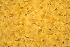 Pasta. Many very delicious Italian pasta farfalle Stock Photos