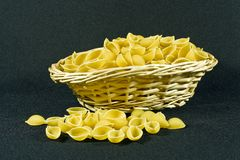 conchiglioni pasta Royalty Free Stock Image