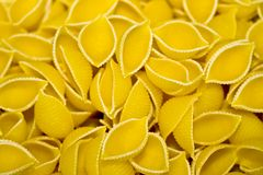 uncooked pasta Royalty Free Stock Image