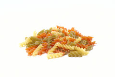 Pasta. Uncooked pasta as an ingredient Royalty Free Stock Image