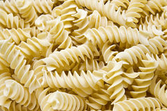 Pasta. Close-up of raw italian pasta Royalty Free Stock Photo