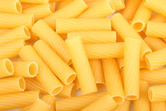 PASTA. Dry raw pasta lying on the table Royalty Free Stock Photography