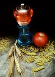 Pasta. Capture for your artistic creations and/or projects Royalty Free Stock Photos