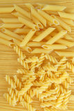 Pasta. Three type of pasta texture in detail Stock Photos