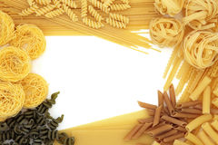 Pasta Abstract Frame Stock Images