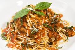 Pasta al Pomodoro Royalty Free Stock Photography