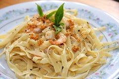 Pasta ala oglio Royalty Free Stock Photos