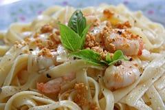 Pasta ala oglio Stock Photography