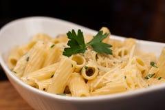 Pasta Alfredo Royalty Free Stock Image