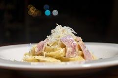 Pasta Alfredo Royalty Free Stock Images